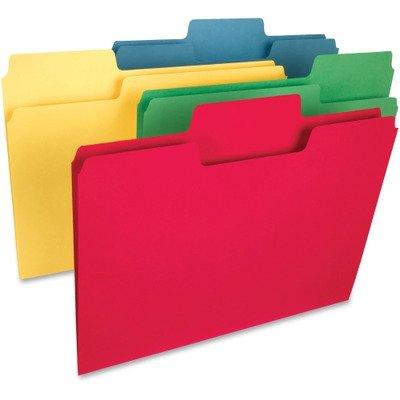 SMD15410 - Smead 15410 Assortment SuperTab Heavyweight File Folder