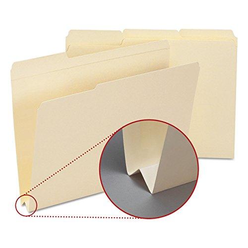 Smead Heavyweight File Folders 13 Cut Top Tab 1 12 Expansion Letter MLA 50Bx