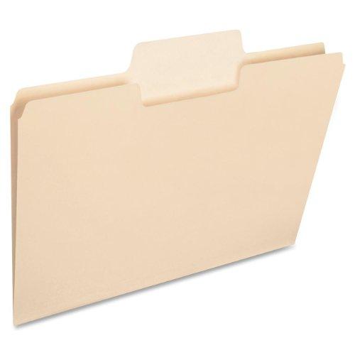 Smead SuperTab Heavyweight File Folder  Oversized 13-Cut Tab Letter Size Manila 50 Per Box 10401
