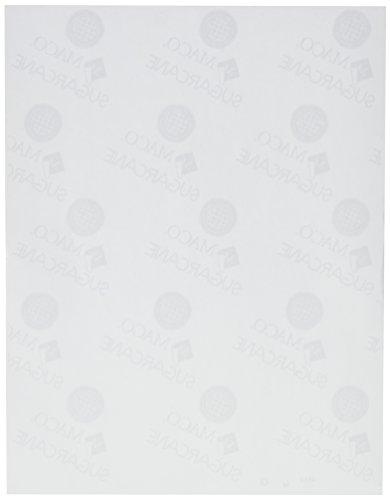 MACO Sugarcane LaserInk JetCopier White Full Sheet Labels 8-12 x 11 Inches 1 Per Sheet 100 Per Box SL-0100