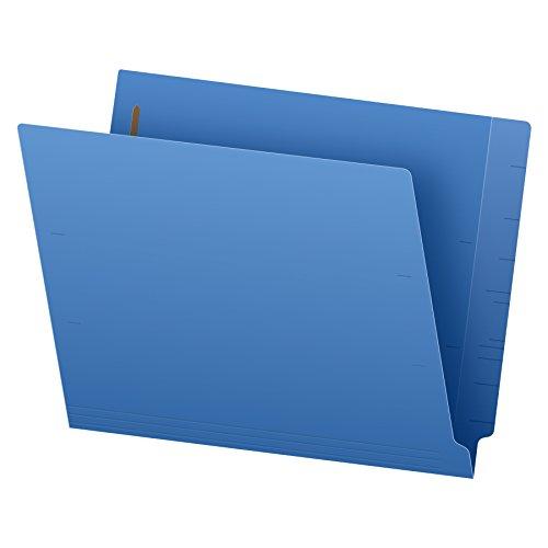 Pendaflex H10U13BL Reinforced End Tab Expansion Folder Two Fasteners Letter Blue Box of 50