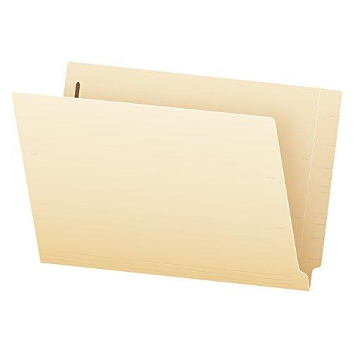 Pendaflex Manila End-Tab Fastener Folders Legal Size 1 Fastener Manila Straight Cut 50BX 47110