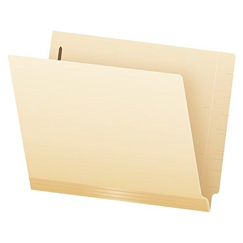 Pendaflex Manila Reinforced End-Tab Fastener Folders Letter Size Manila Straight Cut 50BX 13140EE