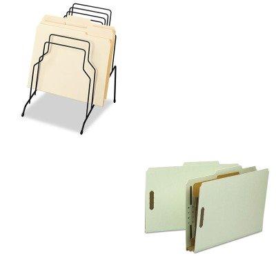 KITFEL72614SMD18722 - Value Kit - Smead Classification Folder SMD18722 and Fellowes Step File FEL72614