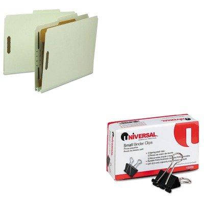 KITSMD13723UNV10200 - Value Kit - Smead Classification Folder SMD13723 and Universal Small Binder Clips UNV10200