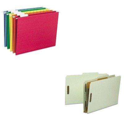 KITSMD18722SMD64059 - Value Kit - Smead Classification Folder SMD18722 and Smead Hanging File Folders SMD64059