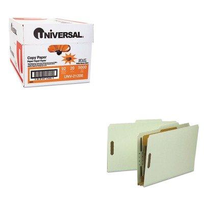 KITSMD18722UNV21200 - Value Kit - Smead Classification Folder SMD18722 and Universal Copy Paper UNV21200