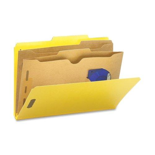 Wholesale CASE of 5 - Smead Classification Folder wPocket Dividers-Folders WPocket Dividers Legal 2 Partitions 10YW
