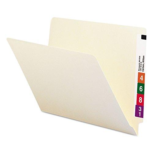 Smead SMD24100 Manila 241 Manila End Tab File Folders - 100 Pieces
