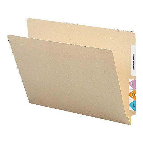 Staples 613395 Manila End-Tab File Folders Reinforced Tab Letter 250Box 613395