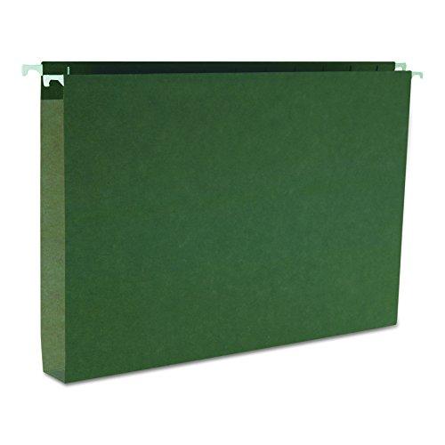 Smead Hanging Box Bottom File Folder 1 Expansion Legal Size Standard Green 25 per Box 64339