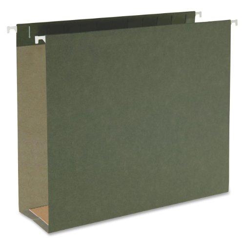 Smead Hanging Box Bottom File Folder 3 Expansion Letter Size Standard Green 25 per Box 64279