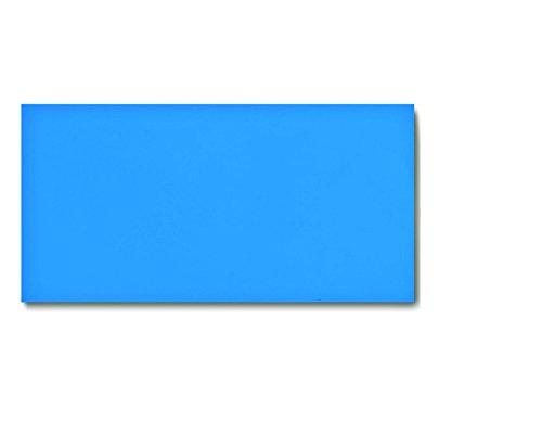 25 Dry Erase Magnetic Shelf Labels 2 x 4 - Blue - 20 mil - Write OnWipe Off