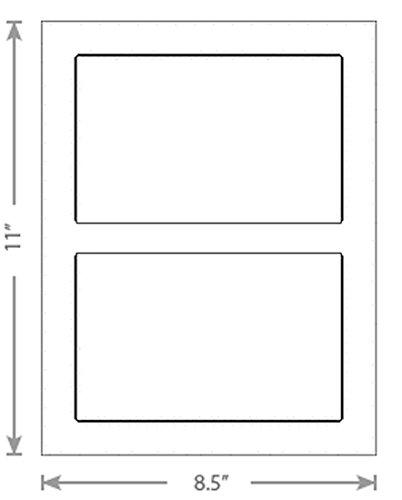 150 Sheets White Laser Inkjet 675x425 Delivery Confirmation Stampscom Labels 2-Up
