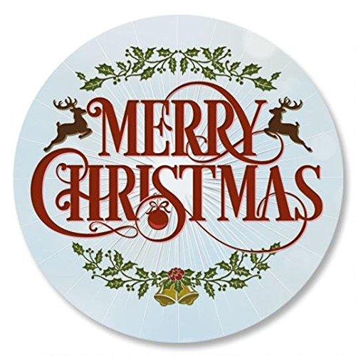 Merry Christmas Envelope Seals - Set of 144