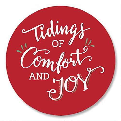 Tidings of Comfort and Joy Christmas Envelope Seals -Set of 144