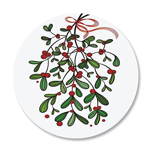 Under the Mistletoe Christmas Envelope Seals -Set of 144
