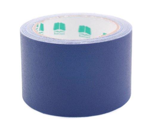 3 Dark Blue Colored Premium-Cloth Book Binding Repair Tape  15 Yard Roll BookGuard Brand