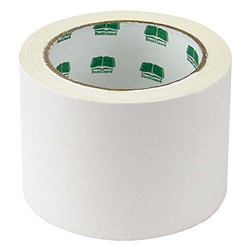 3 White Colored Premium-Cloth Book Binding Repair Tape  15 Yard Roll BookGuard Brand