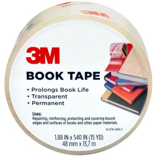 3M 841-3M Scotch Book Tape 283-Inch by 15-Yard
