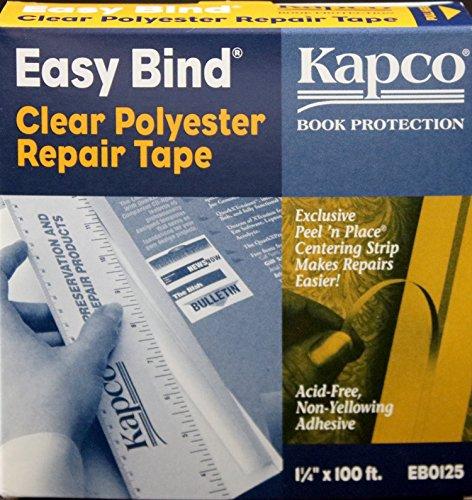 Kapco Book Protection Easy Bind Repair Tape - 1 14 wide x 100 long