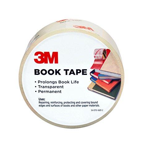 Scotch 283 Inches x 30-Yards Book Tape 843