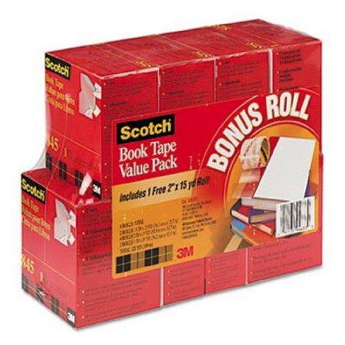 Scotch Book Tape Value Pack 845-VP