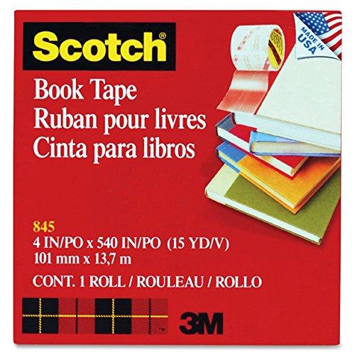 See-Through Book Repair Tape 4 Wide 15 Yards Long 3 Core MMM8454