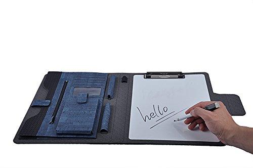 Amazing Design Writing Board Portfolio Folio Case with Dry Erase White Board Organizer Pockets