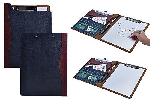 Design Portable Erasable Writing Board PortfolioFolio Case with Dry Erase White Board and Organizer Pockets