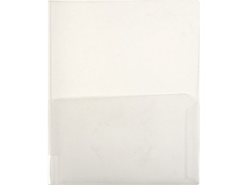 Lion Clear-Line 2-Pocket Plastic Folder Clear Pack of 4 91120-CR-4P