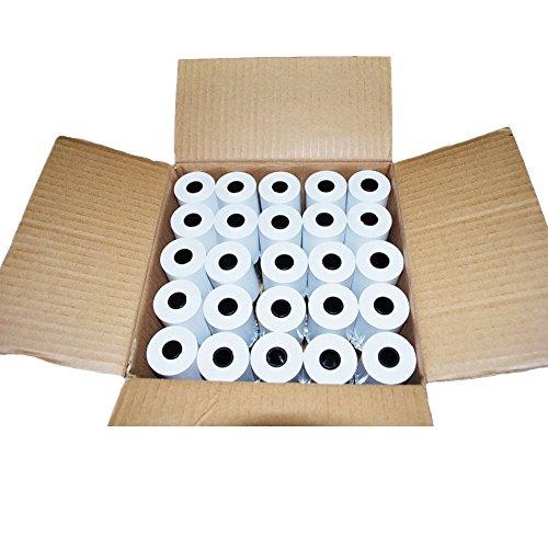 RBHK 2 14 x 50 Thermal Receipt Paper Cash Register POS Paper Roll 50 Rolls