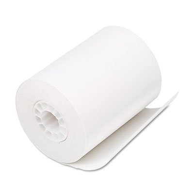Single-Ply Thermal Cash RegisterPOS Rolls 2-14 x 80 ft White 50Ctn