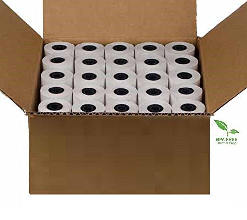 Freccia Rossa Market 2 14 X 85 Thermal Credit Card Paper 50 Rolls Per Box