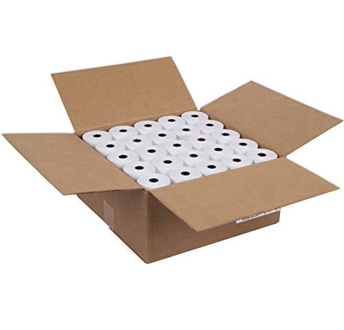 AM-Ink 2 14 x 50 100 Rolls Thermal Paper Cash Register POS Receipt Paper Verifone Vx520 Ingenico ICT220 ICT250 FD400