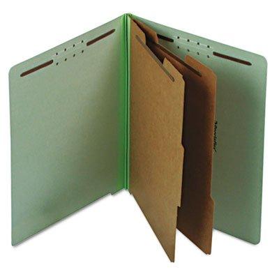 Letter File Folders Pale Green PK 10