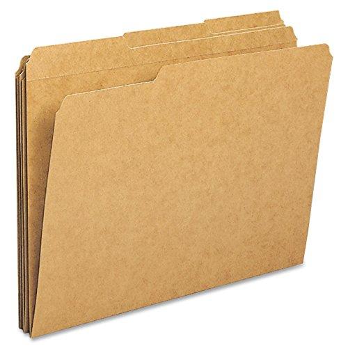 Sparco Letter File Folders 100 per Box Kraft SPRSP20890