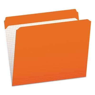 ESSR152ORA - Pendaflex Reinforced Top Tab File Folders