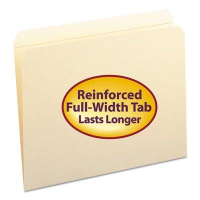 File Folders Straight Cut Reinforced Top Tab Letter Manila 100Box Sold as 100 Each
