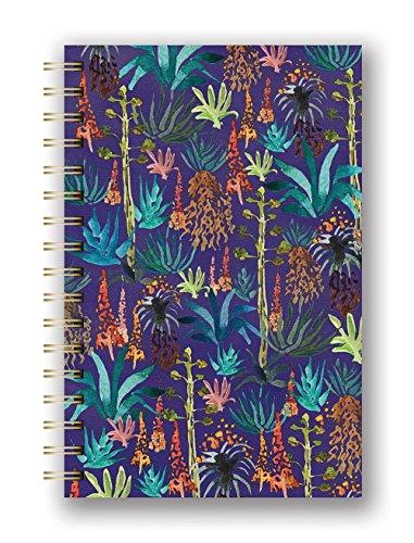 Studio Oh Justina Blakeney Hardcover Spiral Notebook Agave