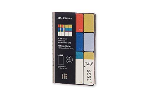 Moleskine PRO Stick Notes Soft Cover Pocket 35 x 55 Black
