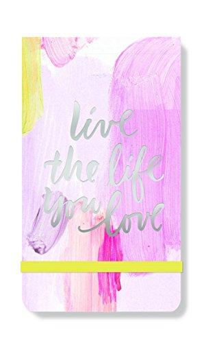 FRINGE STUDIO Brush Live Life Purse Notepad 35 x 6 90 Lined Sheets 958023