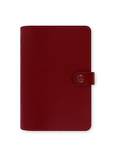 Filofax  2016 The Original Leather Personal Pillar Box Red Organizer Agenda Diary Calendar with DiLoro Jot Pad refill 022380