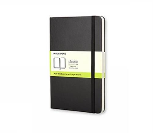 Moleskine Classic Notebook Pocket Plain Black Hard Cover 35 x 55 Classic Notebooks