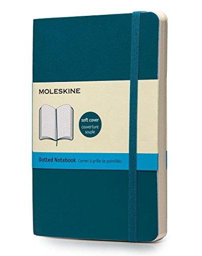 Moleskine Pocket Soft Blue Notebook Dots