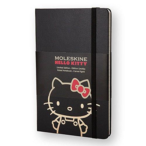 Moleskine notebook limited Hello Kitty hard ruled paper LEHK01MM710 PKT BK