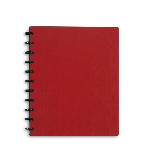 Levenger Circa Sliver Foldover Notebook ADS8155 RD LTR NM