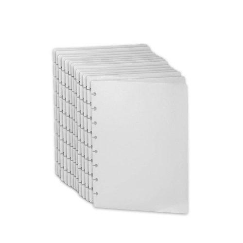 Levenger Translucent Circa Notebook Covers JNR-Set of 100