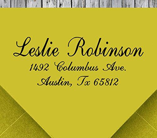 Custom Self Inking Address Stamp Personalized Address Stamp Return Address Stamp