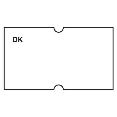 DayMark Date Coder Blank Permanent Label for DM3 SpeedyMark Express 10 1-Line Marking Gun White Pack of 8 Rolls